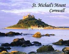 England - Cornwall - ST MICHAEL'S MOUNT - Travel Souvenir Flexible Fridge Magnet