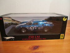 ( GO ) 1:18 Hot Wheels Elite Ferrari 250 LM 12 Hours of Sebring NEU OVP