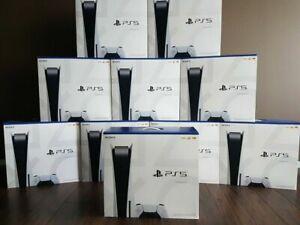 Sony PLAYSTATION 5 , PS5 Cfi-1000a01, Cfi-1000b01 Elección Consola Japón Nuevo