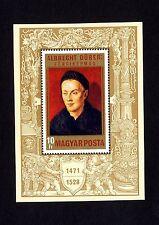 Ungarn Block 81 A ** 500. Geburtstag von Albrecht Dürer