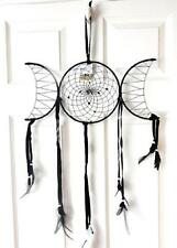 Triple Moon Dream Catcher spiritual pagan wiccan goddess ritual decoration gift