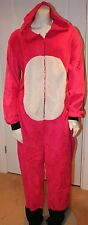 womens onesie ladies pink cat bear all in one Tom Franks M L nightwear winter