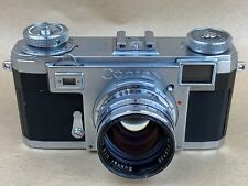 Carl Zeiss Ikon Contax IIa Camera Color Dial w/ 50mm F/1.5 Sonnar lens - Nice