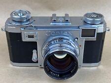 Carl Zeiss Ikon Contax IIa Camera Black Dial w/ 50mm F/1.5 Sonnar lens - Nice