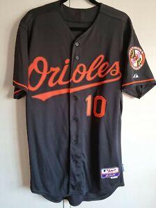 Adam Jones Baltimore Orioles Alt Black Majestic Authentic Jersey s44 NWOT