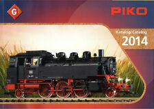 PIKO G SCALE-catalogo, G – Catalogue, G-Catalog 2014 con prezzi – W. prices!