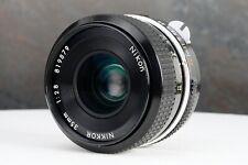 :Nikon Nikkor 35mm f2.8 Non-Ai Manual Focus Prime Lens