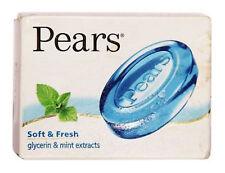 5 X Pears Soft & Fresh Glycerin Soap 75gm free shipping