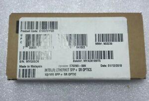 Intel (R)  E10GSFPSR Ethernet SFP + SR Optics E70293 - 008 - New