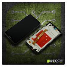 LCD Display für Original Huawei P20 Lite Komplettes Touchscreen Schwarz + Rahmen