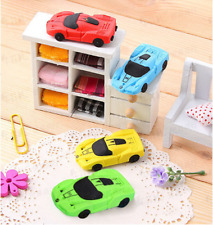 Car Shaped Rubber Eraser Cartoon Erasers Kids Students School Office Stationery