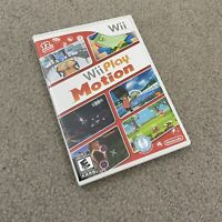 Wii Play Motion Nintendo Wii Game Complete With Manual CIB Tested EUC