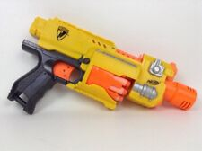Nerf N Strike Barricade RV10 Revolver Motorized with Darts Batteries Full Auto