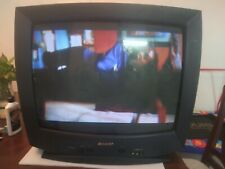 "Sharp 25L-S100 25"" Color CRT Television Retro Gaming"