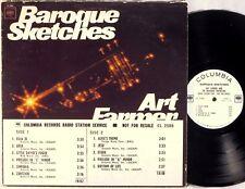 COLUMBIA 2-EYE WLP DJ PROMO Art Farmer BAROQUE SKETCHES Timing String CL-2588