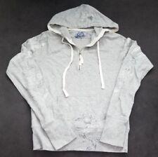 GAP Women's Gray Half Zip Hoodie Size XS
