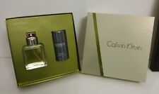 Calvin Klein Eternity 100ml EAU DE TOILETTE + 75 ML Deos Tick Set Nuovo