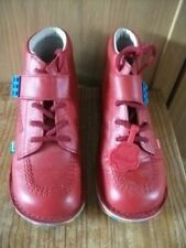 Childrens  Lego red Kickers size 2.5 in a VGC