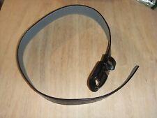 "Mizuno Classic Synthetic Leather Belt Black 27-31"""