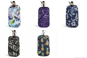 NWT Vera Bradley Double Eye Case Quilted Cotton 5 Patterns MSRP $25