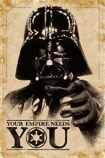 STAR WARS (YOUR EMPIRE NEEDS YOU)  PP33491   Maxi Poster 61cm x 91.5cm