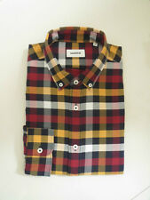 BN  Marcs Men's Bobby Slim Fit Check L/S Shirt  Size M