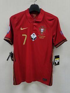 2020 Portugal Home S/S No.7 RONALDO EURO vs France 20-21 jersey shirt trikot
