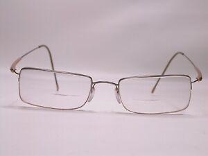 Silhouette Frameless Gold Silver Frames Light Weight Eyeglasses Made in Austria