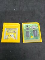 Pokemon Yellow Version: Special Pikachu Edition (Game Boy) Authentic - Dead batt