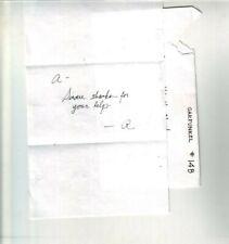 Art Garfunkel Autographed Handwritten Note #2 Simon & Garfunkel