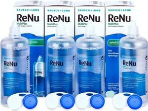 RENU MPS Sensative Contact Lens Solution 4x60ml Pack