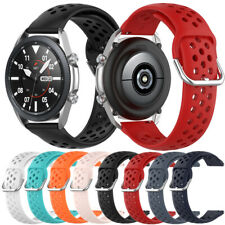 Silicone Watch Strap Band For Samsung Galaxy Watch 46mm 42mm Active Gear S3 S2