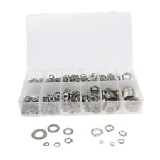 7900pc M12/10/8/6/5/4 Plain Finish Stainless Steel Flat Lock Washer Assorted