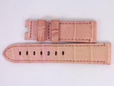 Official Panerai Pink Watch Strap Alligator 22/20 115/75 MX001T1S Cr25