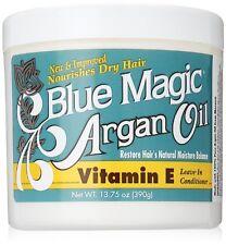 Blue Magic Nourishing Dry Hair Argan Oil Vitamin E Leave in Conditioner 13.75oz