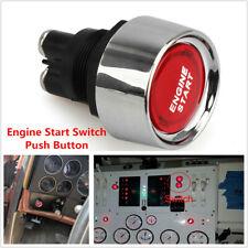 12V Race Car Dash Red LEDs Illuminated Engine Start Switch Push Button Starter