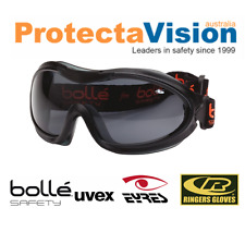 BRAND NEW BOLLE NITRO SMOKE LENS SAFETY GOGGLES