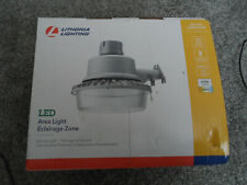 Lithonia Lighting Dusk to Dawn Photocell Hardwired LED Gray Area Light 40W