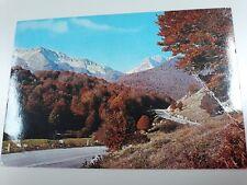 Cartolina PRETORO Passo Lanciano Hotel La Maielletta (Chieti) Viaggiata (1984)