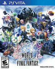 World of Final Fantasy Re-Sealed Sony PlayStation Vita Game