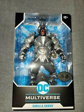 McFarlane DC Multiverse Injustice 2 GORILLA GRODD Silver *PLATINUM CHASE**