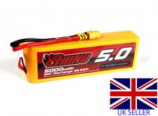 Rhino 5000mAh 11.1V 3S 50C Lipo Battery XT60 Traxxas HPI Tamiya Heli 4000 4500