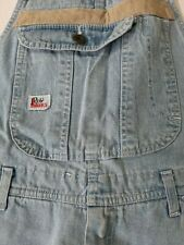 Roy Rogers jeans uomo men blu blue tg M  made in italy giubbotto salopette
