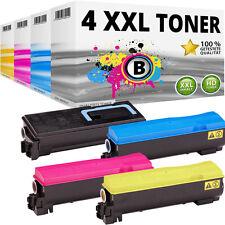 4x XL TONER PATRONE für Kyocera Mita FS-C5100DN TonerkartuscheSet TK-540