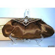 Pochette - Borsetta donna GP Prestige elegante color bronze moda italiana. Per M