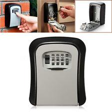 4 Digit Combination Password Key Box Wall Mount Safety Lock Organizer Case