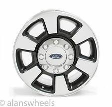 "Ford F250 F350 Super Duty Factory OEM 18"" Charcoal Machine Face Wheels Rims 3843"