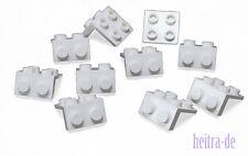 LEGO - 10 x Winkelplatte weiss 1x2 auf 2x2 / White Bracket / 44728 NEUWARE