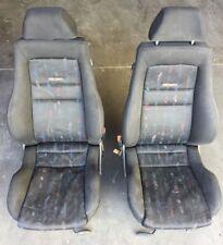 93-99 VOLKSWAGEN VW GOLF A3 RECARO M-SITZ COCKPIT SCHWARZ FRONT SEATS KL557694
