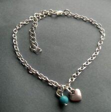 Bigiotteria turchese argento cuore